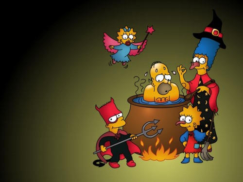 Les Simpson wallpaper 10