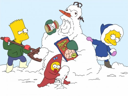Les Simpson wallpaper 22