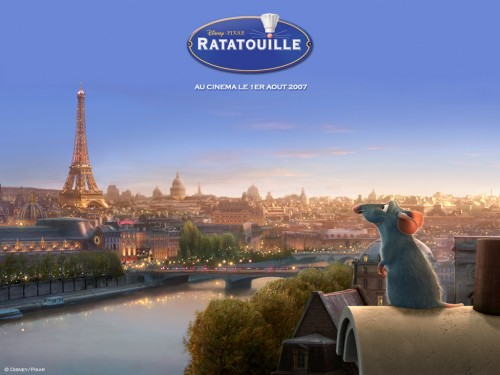 Ratatouille wallpaper 1