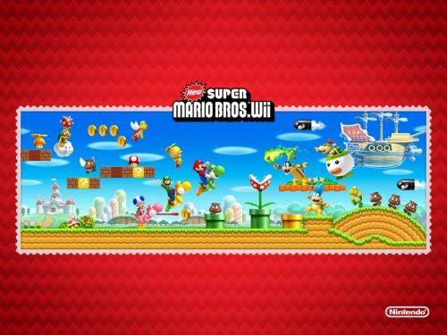 New Super Mario Bros. Wii wallpaper 1