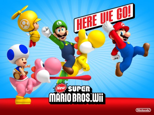 New Super Mario Bros. Wii wallpaper 4