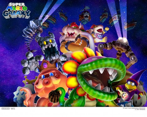 Super Mario Galaxy wallpaper 11