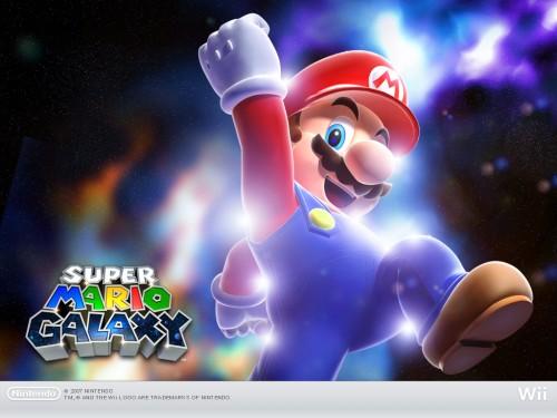 Super Mario Galaxy wallpaper 2