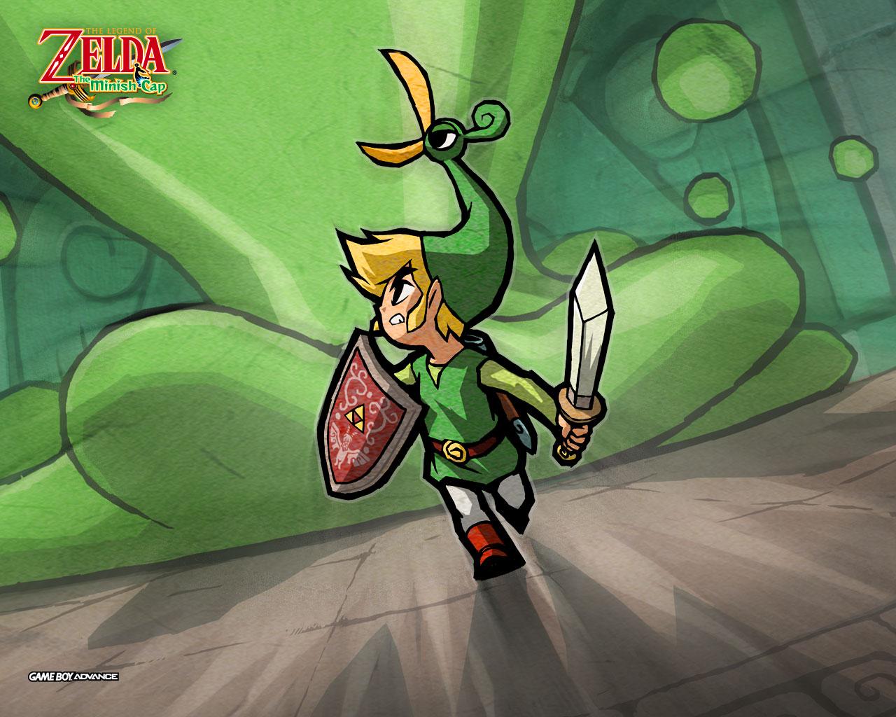 The Legend Of Zelda The Minish Cap Wallpaper 1 Jeux Vidéo
