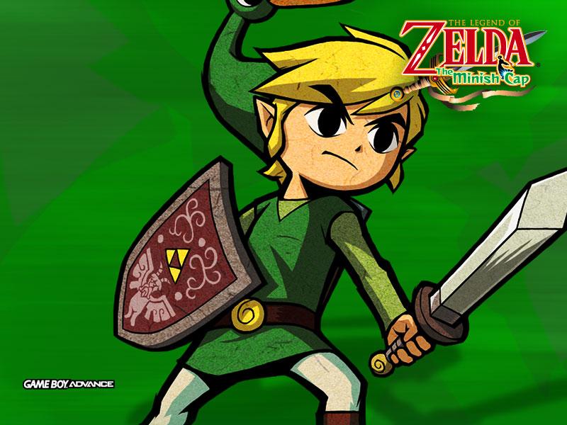 The Legend Of Zelda The Minish Cap Wallpaper 2 Jeux Vidéo