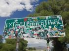 Panneau Extraterrestrial Highway