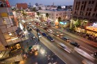 Hollywood Boulevard de nuit