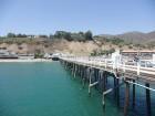 Vue du pier de Malibu et de sa structure