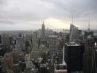Vue de New York depuis la plate-forme d'observation Top of the Rock