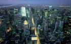Vue de New York depuis le sommet de l'Empire State Building