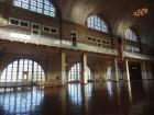 Intérieur du bâtiment principal d'Ellis Island