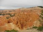 Belles couleurs de l'amphithéâtre de Bryce Canyon
