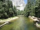 Baignade à Yosemite