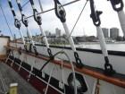 Vue depuis le voilier Balclutha