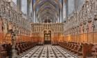 Choeur lumineux de la cathédrale Sainte-Cécile d'Albi