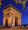 L'arc de triomphe de l'Étoile à Paris