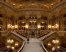 Le grand escalier de l'Opéra Garnier à Paris