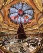 Balcons et coupole des Galeries Lafayette Paris Haussmann