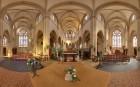Intérieur de l'église de Saint-Vaast-la-Hougue