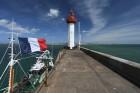 Le phare de Saint-Vaast-la-Hougue