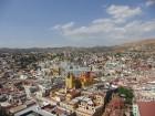 Vue de Guanajuato avec au milieu la basilique de Notre-Dame-de-Guanajuato