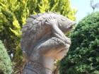 Une statue sur l'île de Janitzio