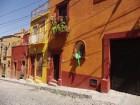 De belles façades de San Miguel de Allende
