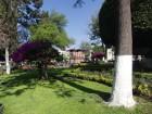 Le jardin Zenea dans le centre de Santiago de Querétaro