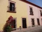 De belles façades à Santiago de Querétaro