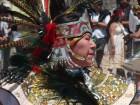 Une danseuse qui fête l'équinoxe de printemps
